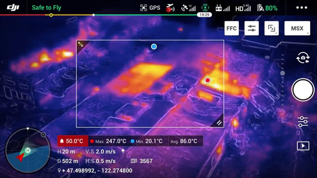 Mavic Enterprise Dual (RGB Plus Thermal Cameras) with Smart Controller »